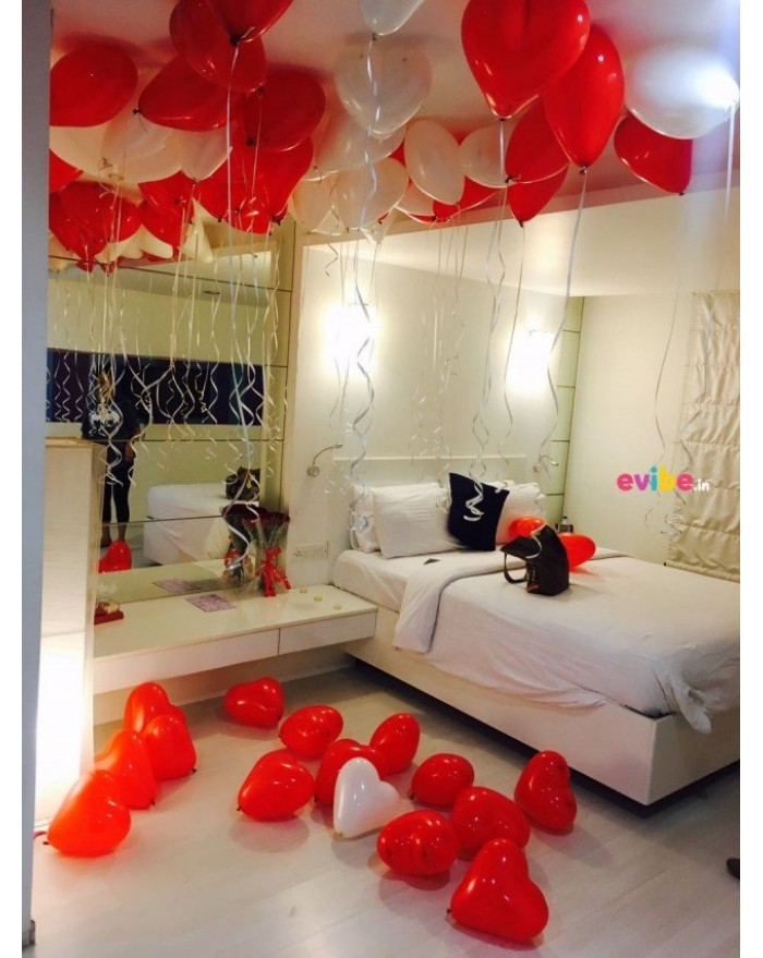 Helium Gas Balloon Decoration with foil letters