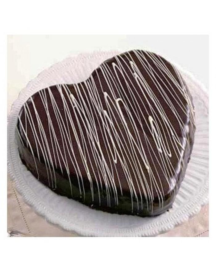 Choco Truffle Expressing Love Cake