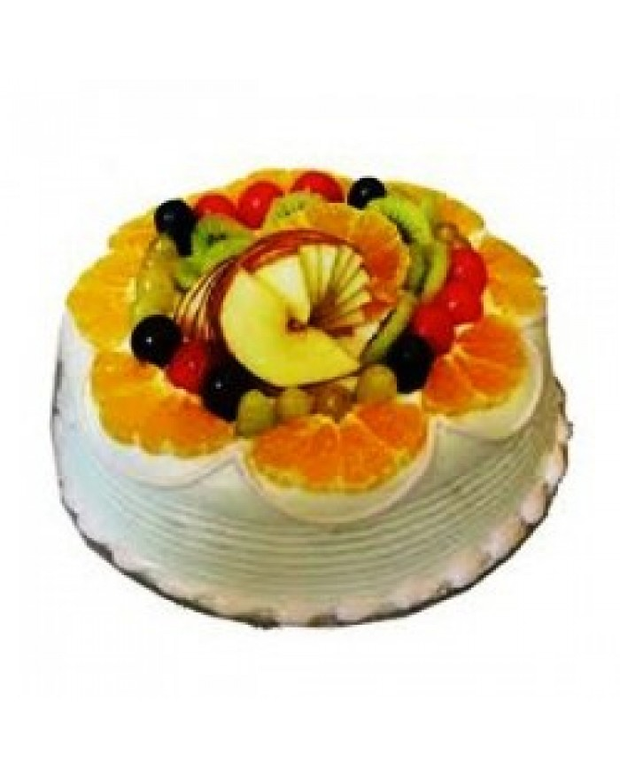Mix Fruit Delight Cake
