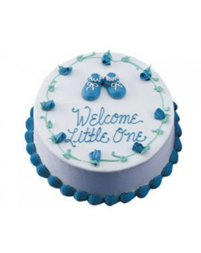 Welcome Little One Baby Shower Cake