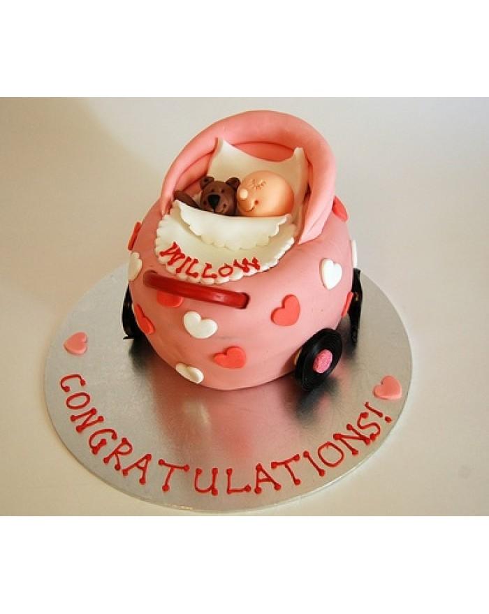 Baby Cart Cake